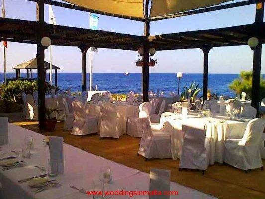 Malta sea view wedding venues gallery weddings in malta for Wedding venue with a view