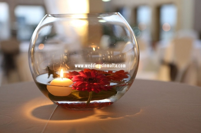 Malta Wedding Table Centrepieces (17)