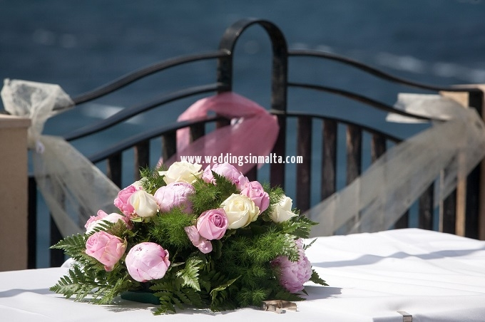 Malta Wedding Table Centrepieces (22)