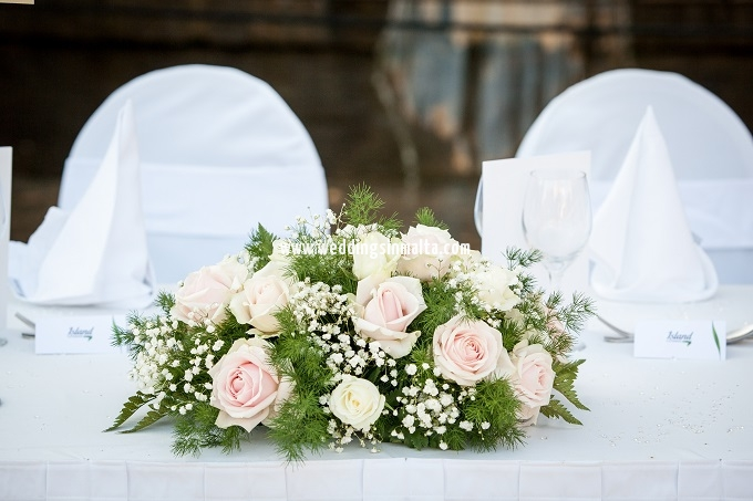 Malta Wedding Table Centrepieces (24)