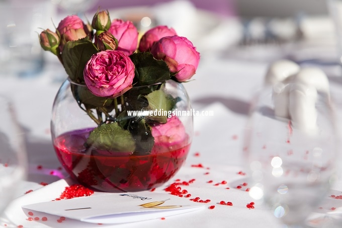 Malta Wedding Table Centrepieces (26)