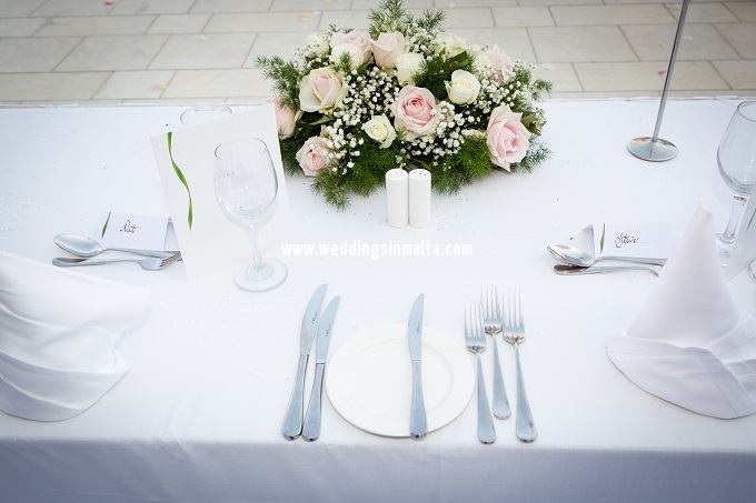 Malta Wedding Table Centrepieces (30)