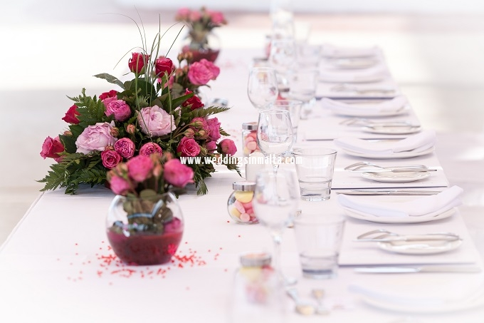 Malta Wedding Table Centrepieces (33)