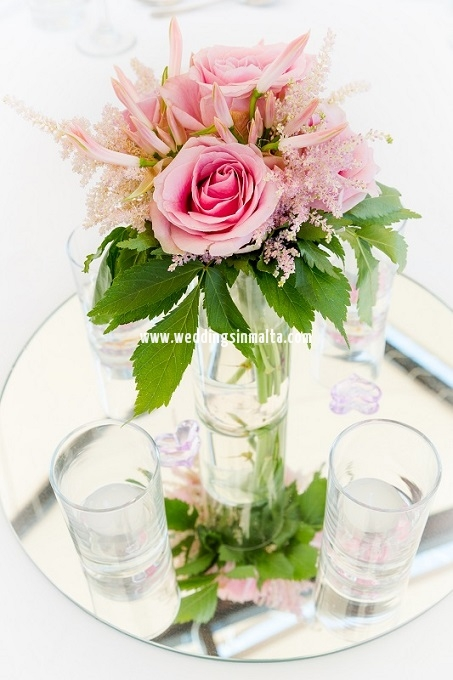 Malta Wedding Table Centrepieces (35)