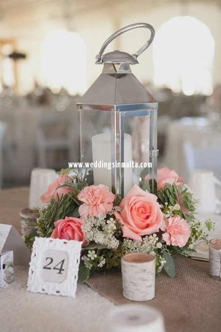 Malta Wedding Table Centrepieces (38)