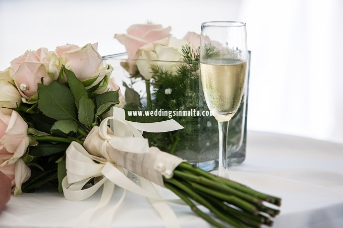 Malta Wedding Table Centrepieces (4)