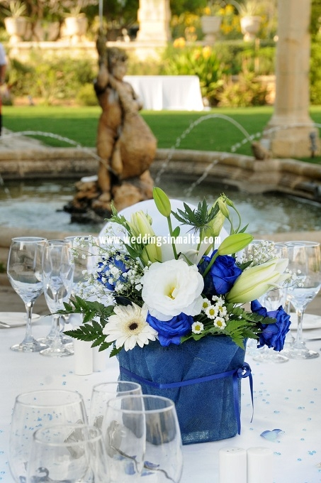 Malta Wedding Table Centrepieces (43)