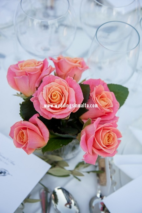 Malta Wedding Table Centrepieces (46)