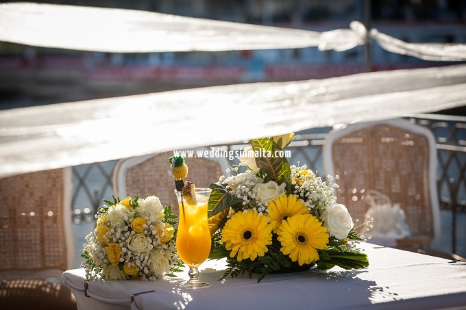 Malta Wedding Table Centrepieces (5)
