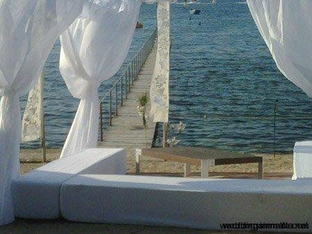 Weddings in Malta - Beach set-ups