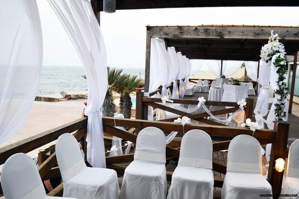 Weddings in Malta - Beach wedding venues