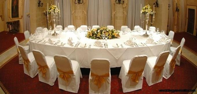 Weddings in Malta - Fine dining receptions
