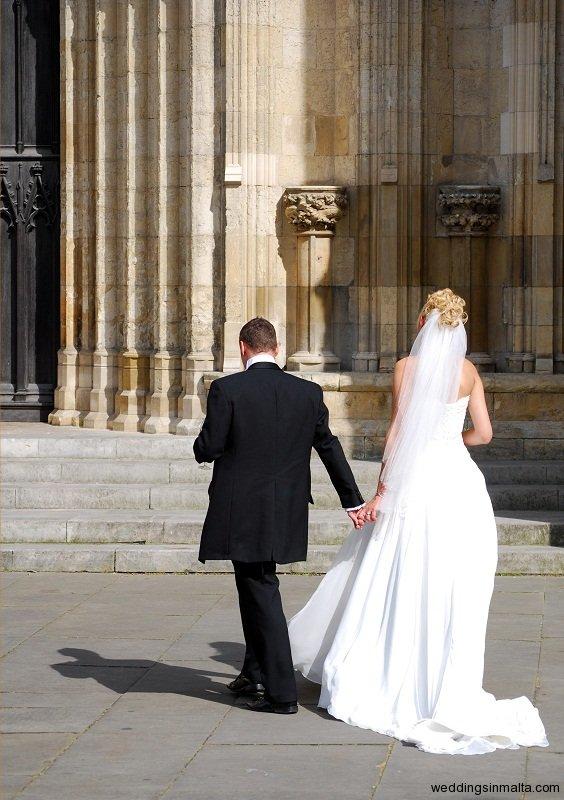 Malta Wedding day