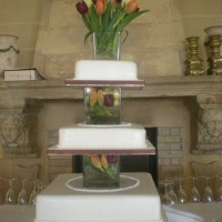 Square Malta Wedding Cake